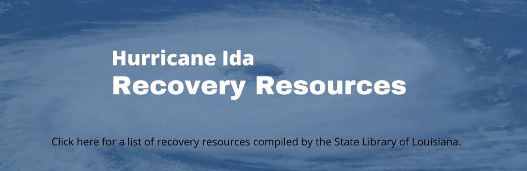 Recovery Resources – Hurricane Ida