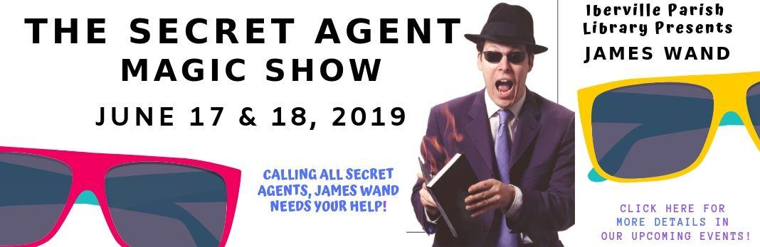 Secret Agent SRP 2019