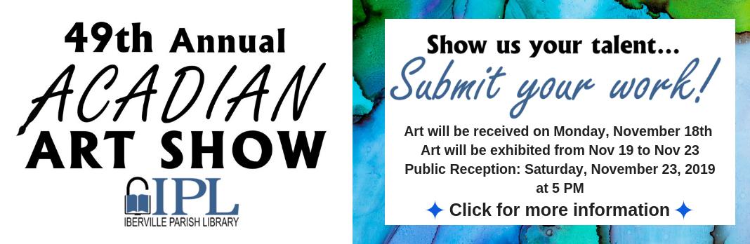 Acadian Art Show 2019