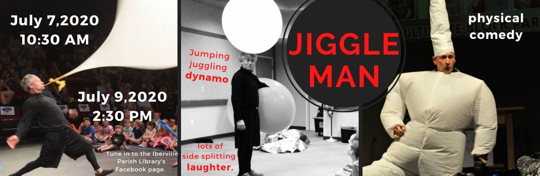 Summer Reading – Jiggle Man