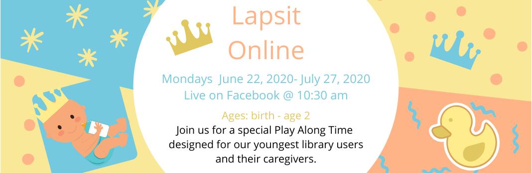 Summer Reading Program 2020 – Lapsit