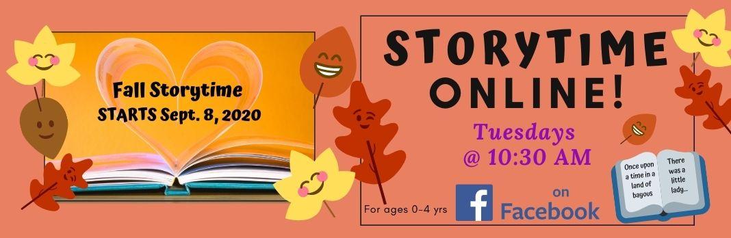 Facebook Storytime