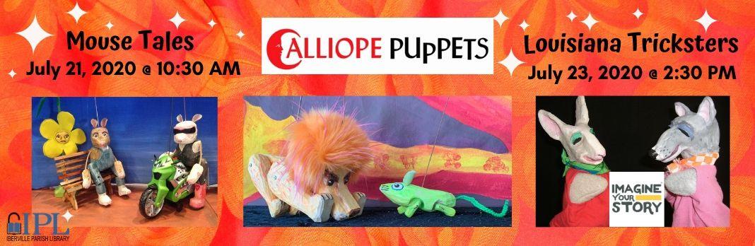 Summer Reading – Calliope Puppets