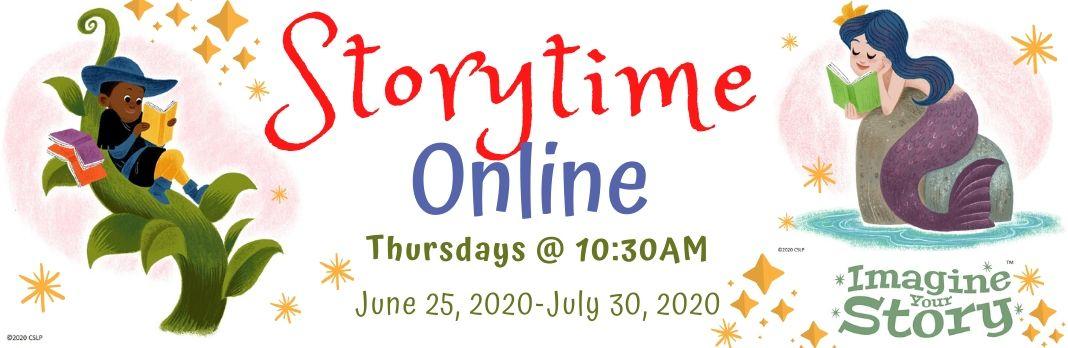Summer reading Program 2020 – Storytime